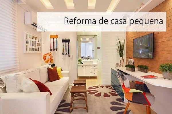Dicas de reforma de casa pequena geimper blog - Reformas casas pequenas ...
