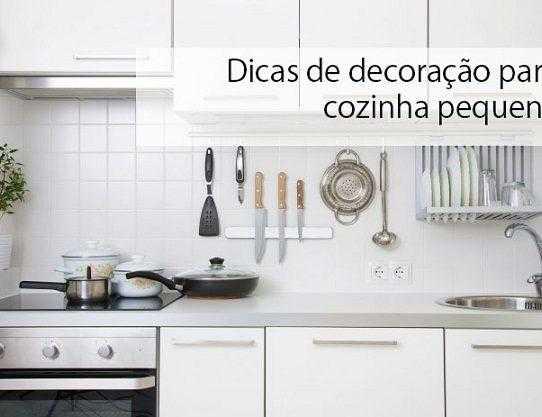 Dicas de decoração para cozinha pequena